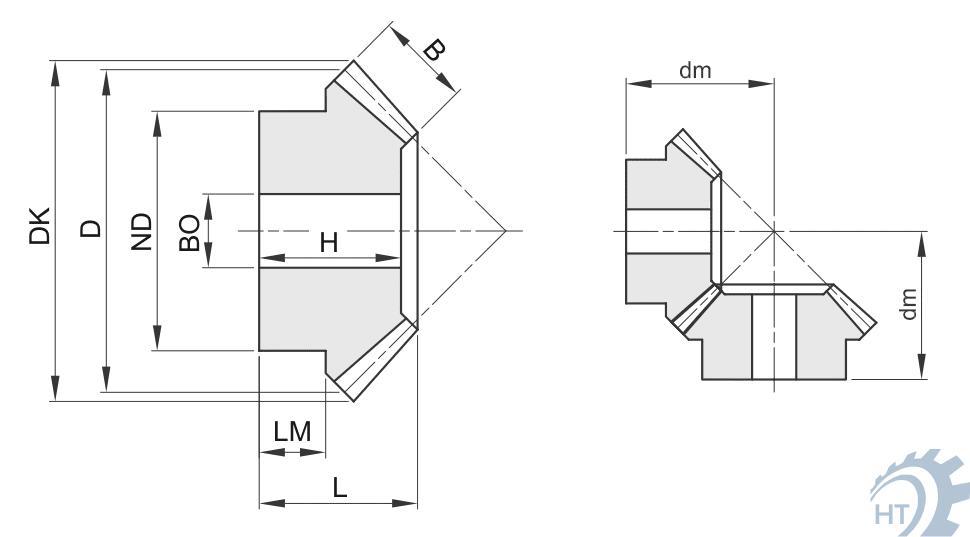 kegelr der typ a 1 1 holtech antriebstechnik. Black Bedroom Furniture Sets. Home Design Ideas