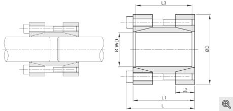 Wellenkupplung Baureihe 475